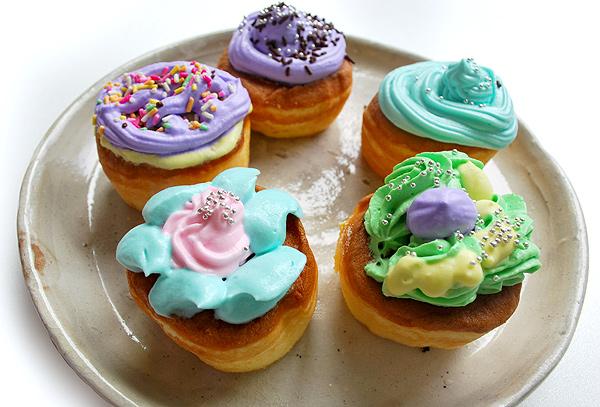 食用色素を使ったカラフルお菓子