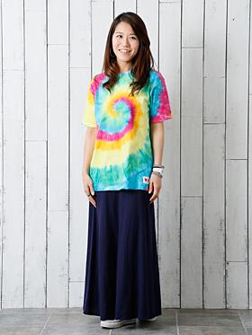 タイダイTシャツ コーディネート例 / カラーマーケット
