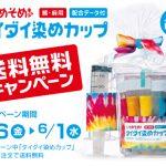 タイダイ染めカップ送料無料キャンペーン