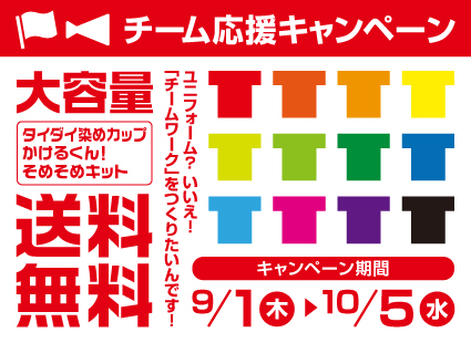 大容量染色キット各種送料無料キャンペーン