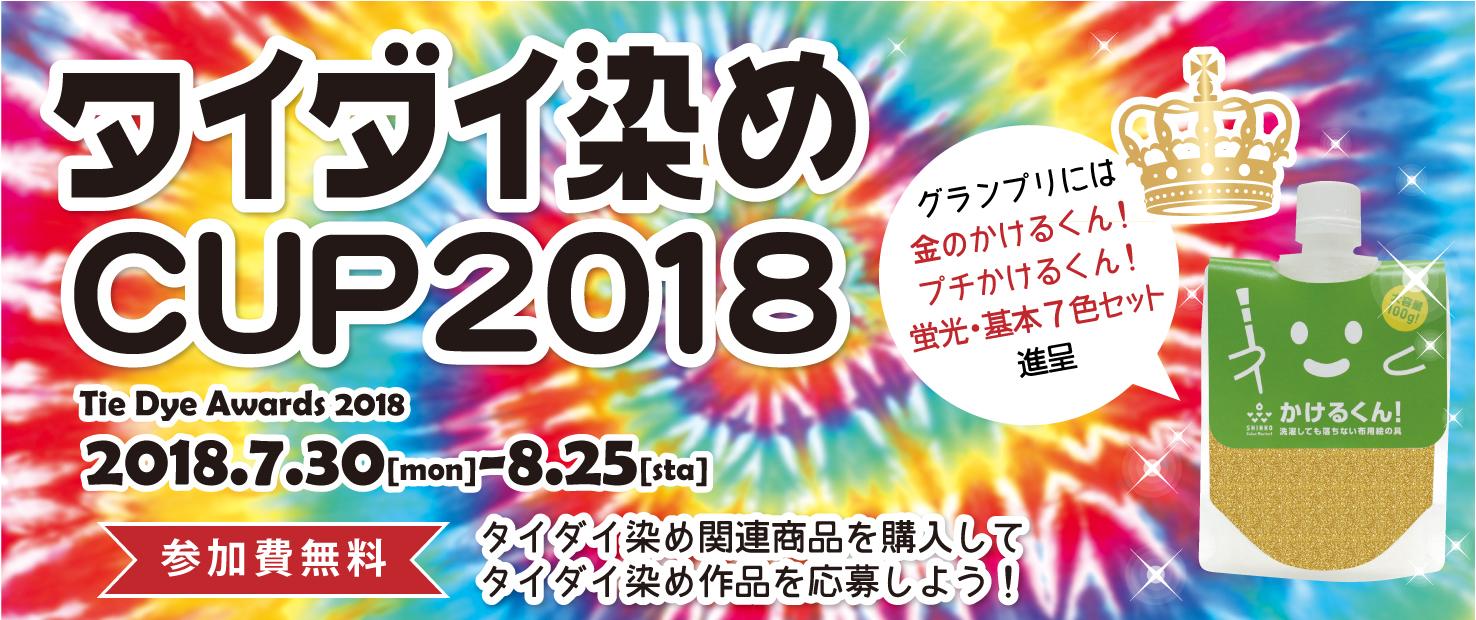 タイダイ染めCUP2018